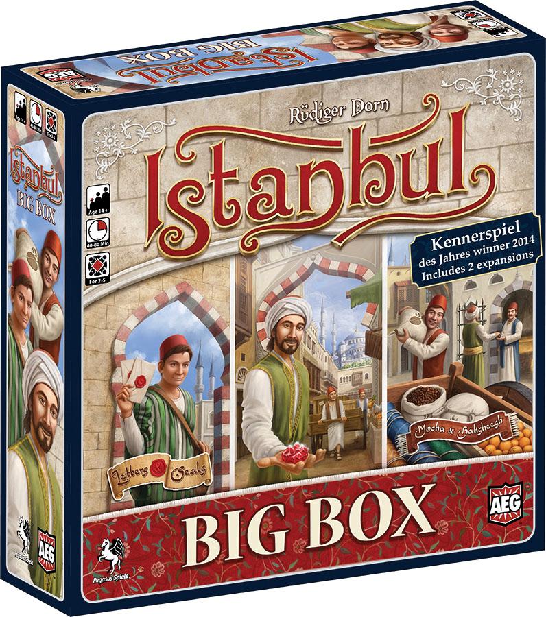 Istanbul: Big Box Game Box