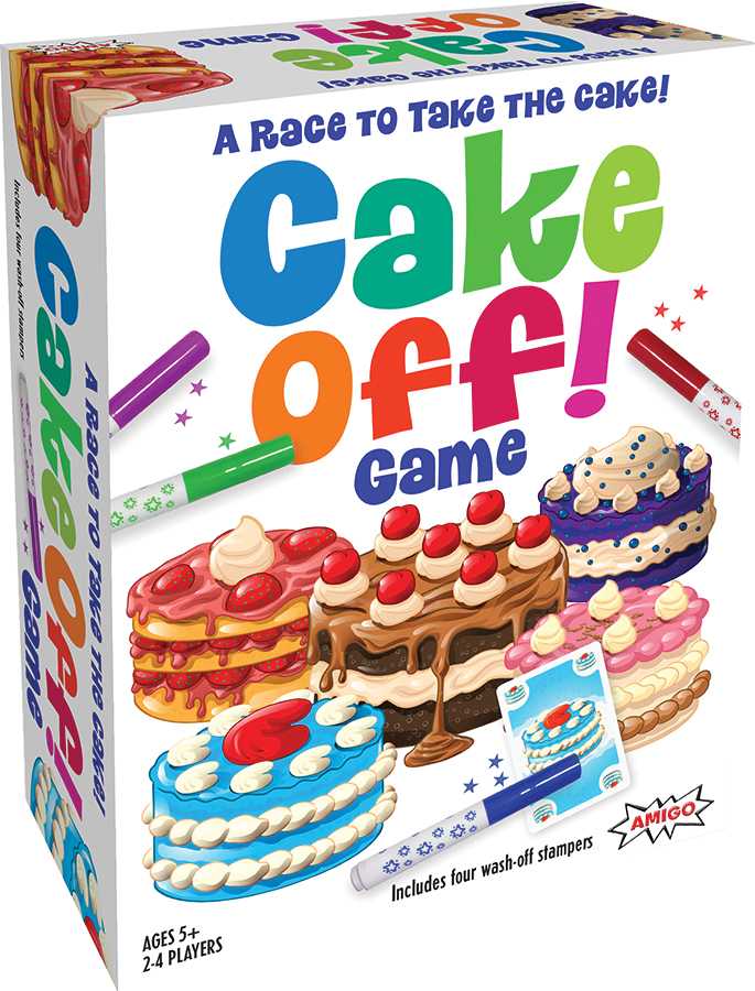 Cake Off Box Front