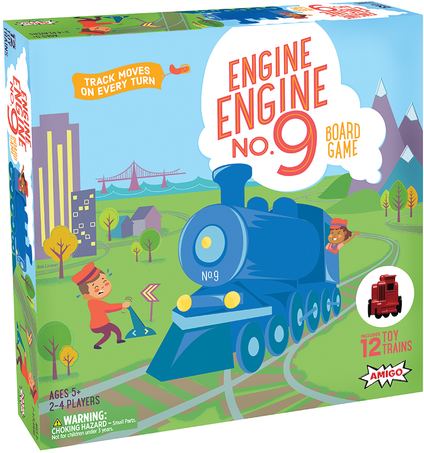 Engine, Engine No. 9 Box Front