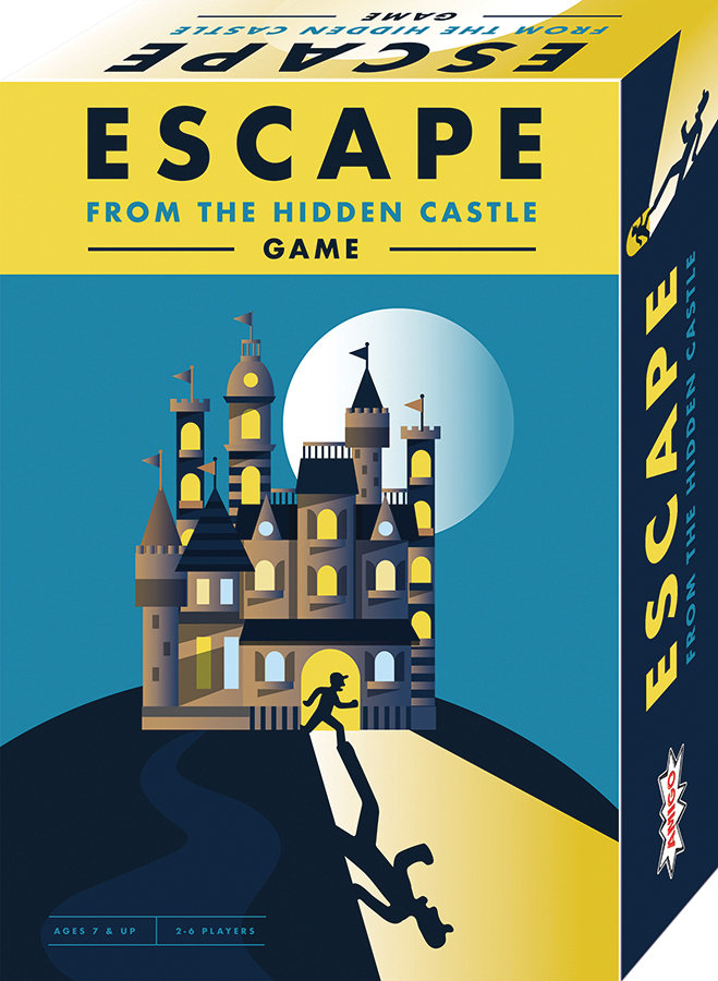 Escape From The Hidden Castle Box Front