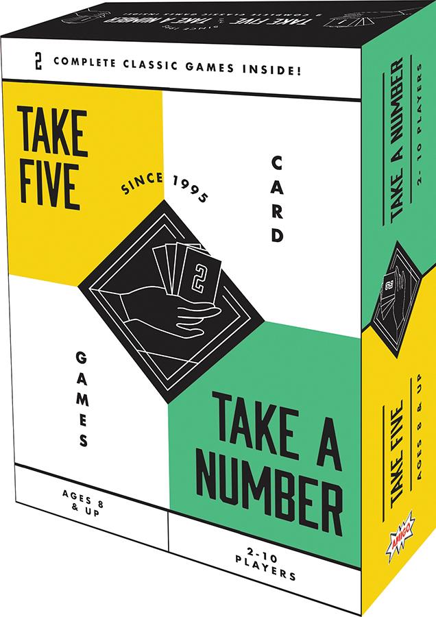 Take 5/ Take A Number Bonus Pack Box Front