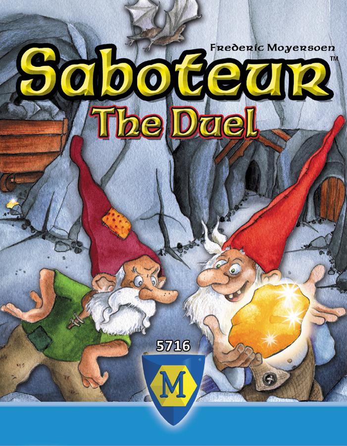 Saboteur: The Duel Box Front