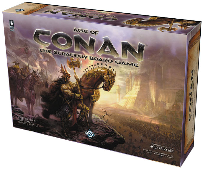 Age Of Conan Board Game Box Front