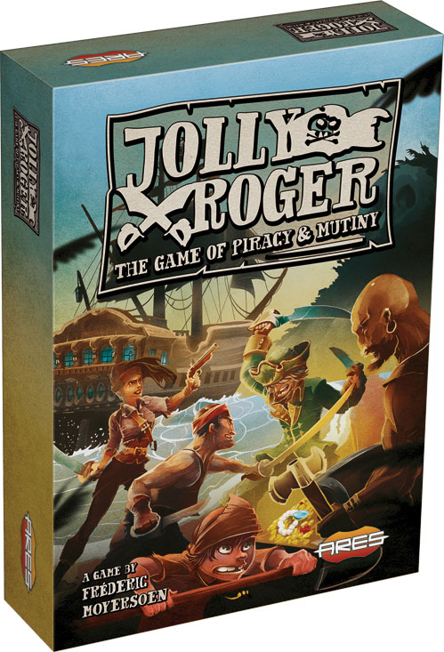 Jolly Roger - The Game Of Piracy And Mutiny Box Front