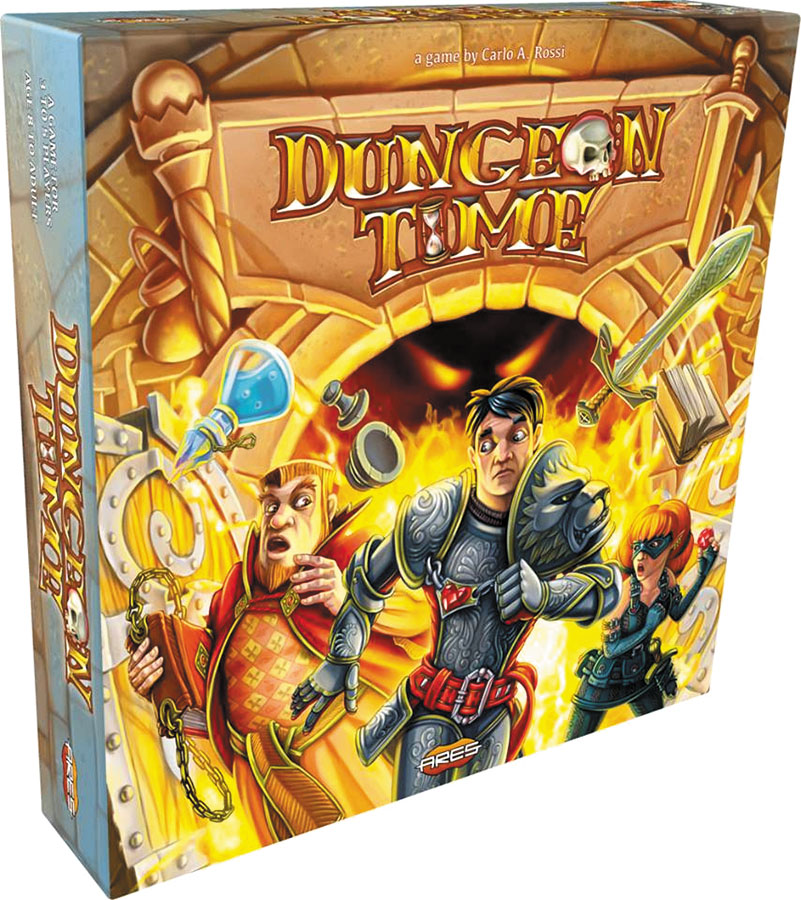 Dungeon Time Box Front