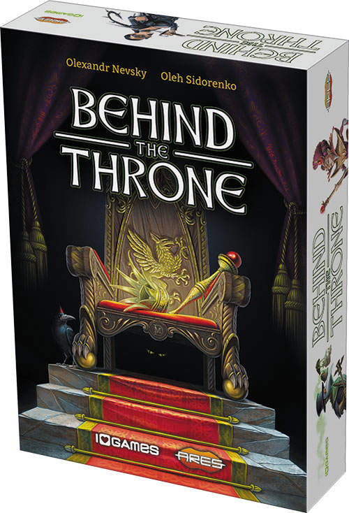 Behind The Throne Box Front