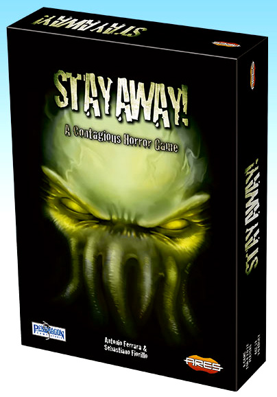 Stay Away! Box Front