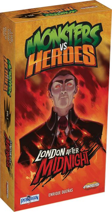 Monsters Vs Heroes: Victorian Nightmares Box Front
