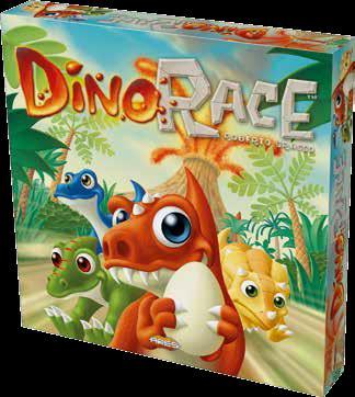 Dino Race Box Front