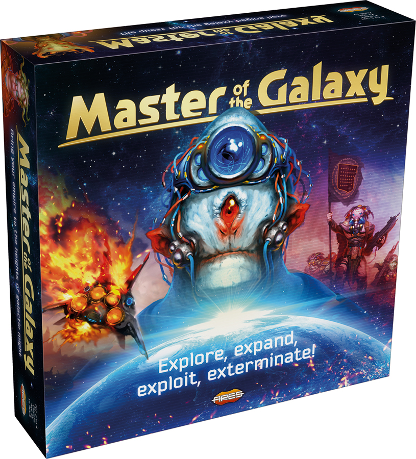 Master Of The Galaxy Box Front