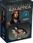 Battlestar Galactica: Starship Battles - Spaceship Pack - Boomers Raptor Game Box