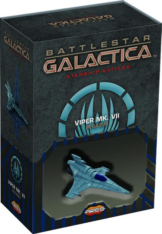 Battlestar Galactica: Starship Battles - Spaceship Pack - Viper Mk.vii (pegasus) Game Box