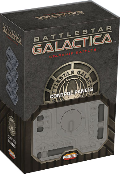 Battlestar Galactica: Starship Battles - Accessory Pack - Set Of Additional Control Panels Game Box