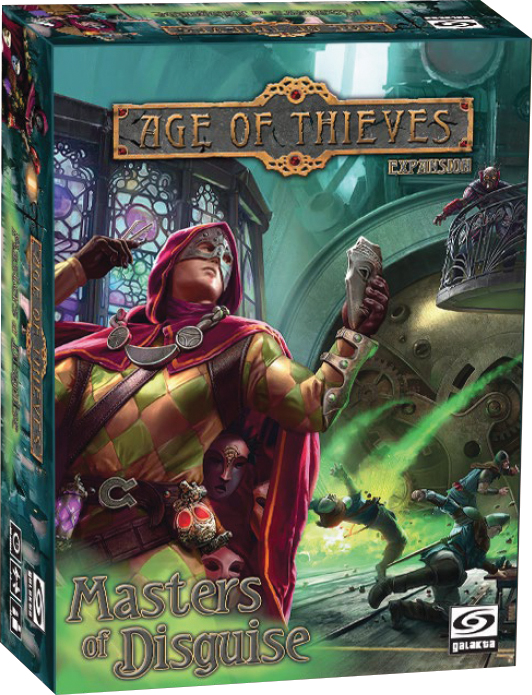 Age Of Thieves: Masters Of Disguise Expansion Box Front