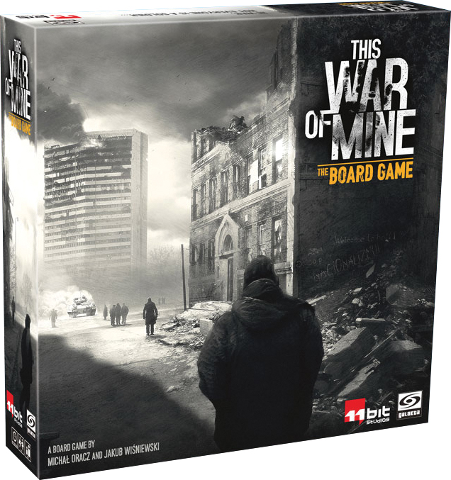 This War Of Mine: The Board Game Box Front