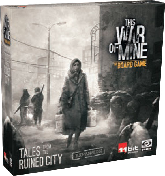 This War Of Mine: Tales From The Ruined City Expansion Game Box