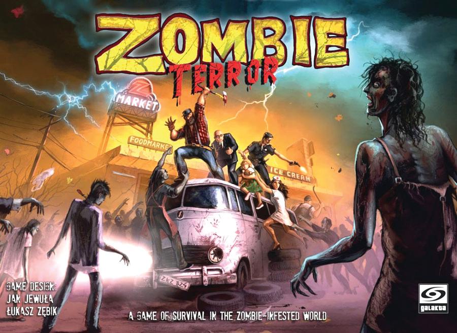 Zombie Terror Box Front