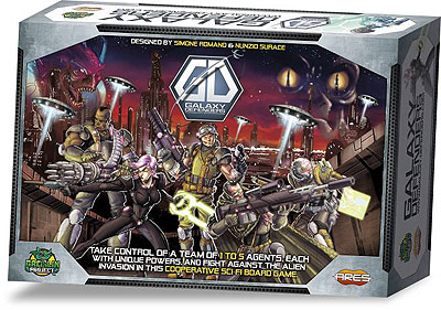 Galaxy Defenders: Core Set Box Front