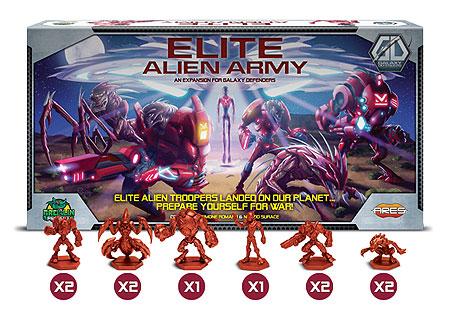 Galaxy Defenders: Elite Alien Army Box Front
