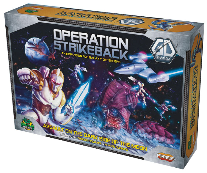 Galaxy Defenders: Operation Strikeback Box Front