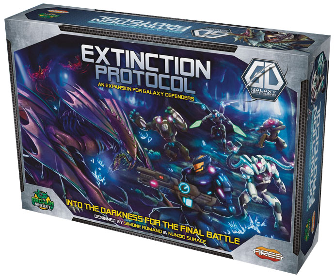 Galaxy Defenders: Extinction Protocol Box Front