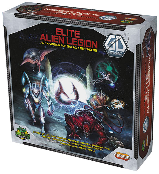 Galaxy Defenders: Elite Alien Legion Box Front