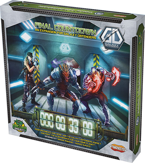 Galaxy Defenders: Final Countdown Box Front