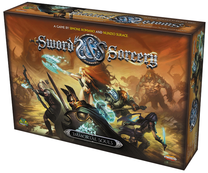 Sword & Sorcery: Immortal Souls Box Front