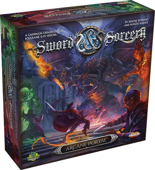 Sword & Sorcery: Arcane Portal Box Front