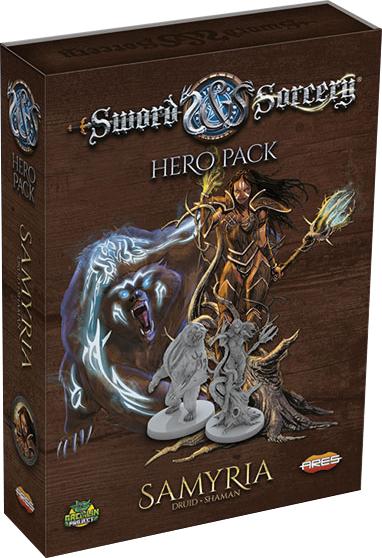 Sword & Sorcery: Samyria Hero Pack Box Front