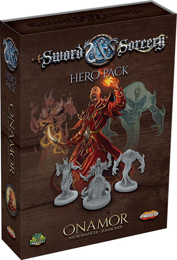 Sword & Sorcery: Onamor And Volkor Box Front
