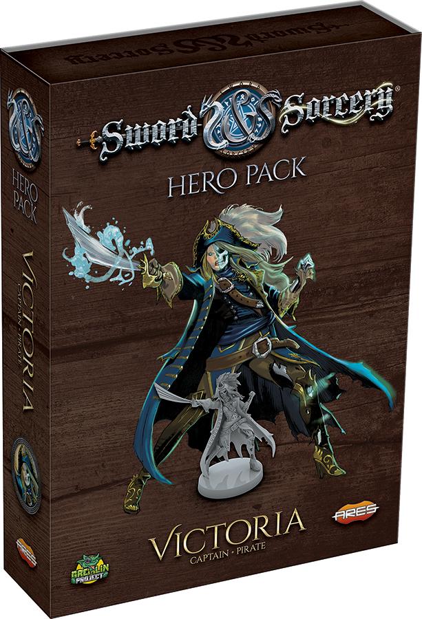 Sword & Sorcery: Victoria Hero Pack Box Front