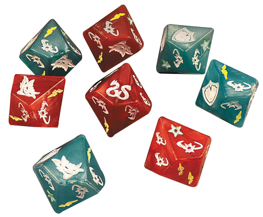 Sword & Sorcery: Custom Dice Pack Box Front