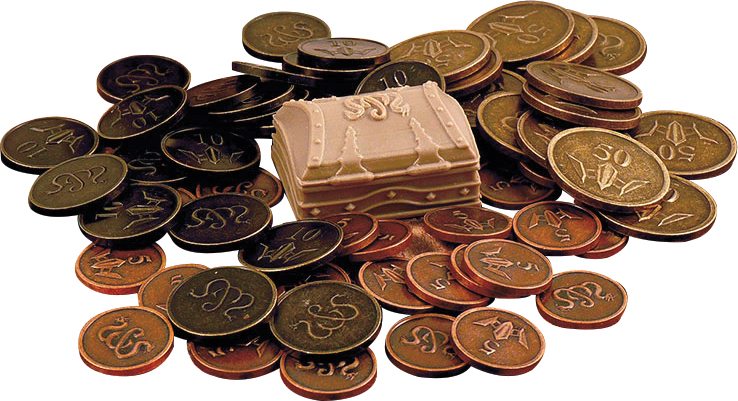 Sword & Sorcery: Metal Coins Accessory Box Front