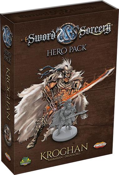 Sword & Sorcery: Kroghan Hero Pack Box Front