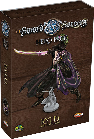 Sword & Sorcery: Ryld Hero Pack Box Front