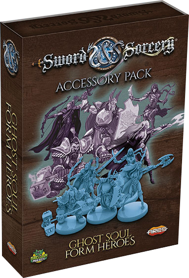 Sword & Sorcery: Ghost Soul Form Heroes Accessory Pack Box Front