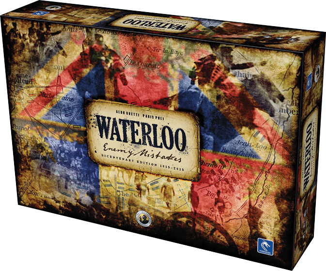 Waterloo: Enemy Mistakes Box Front