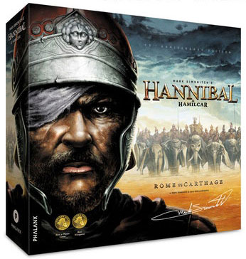 Hannibal & Hamilcar: Rome Vs Carthage Box Front