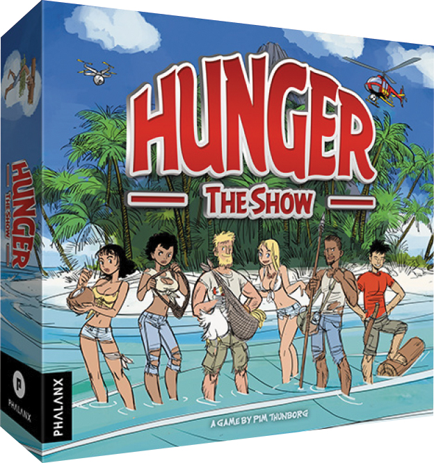 Hunger: The Show Box Front