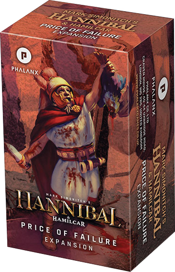 Hannibal & Hamilcar: Price Of Failure Expansion Box Front
