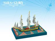 Sails Of Glory: Hermione 1779 French Frigate Ship Pack Box Front