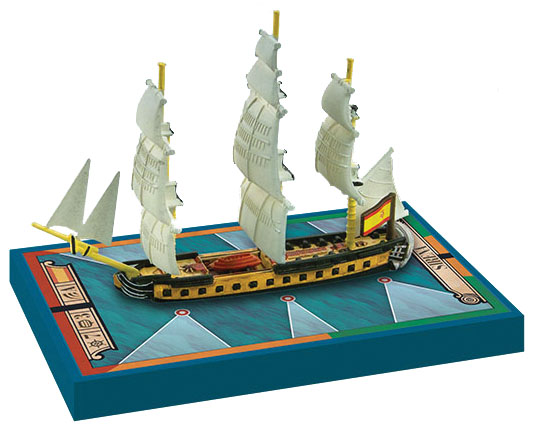 Sails Of Glory: Sirena 1793 Spanish Frigate Ship Pack Box Front