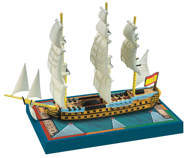 Sails Of Glory: Argonauta1806 Spanish S.o.l. Ship Pack Box Front