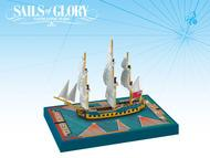 Sails Of Glory: Hms Cleopatra 1779 British Frigate Ship Pack Box Front