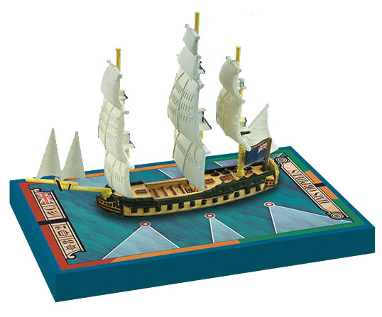 Sails Of Glory: Hms Orpheus 1780 British Frigate Ship Pack Box Front
