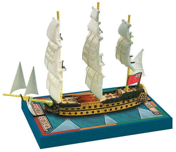 Sails Of Glory: Hms Zealous 1785 British S.o.l. Ship Pack Box Front