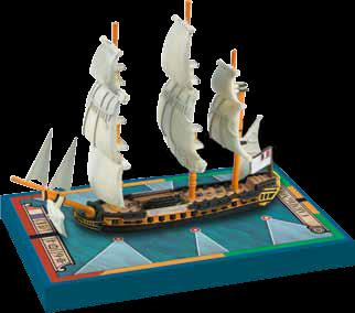 Sails Of Glory: Carmagnole 1793 French Frigate Ship Pack Box Front