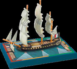 Sails Of Glory: Proserpine 1785 French Frigate Ship Pack Box Front