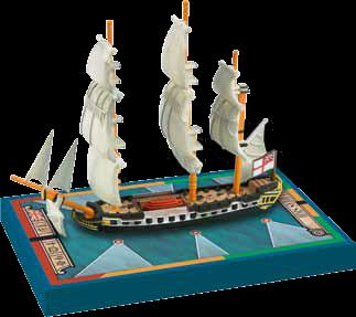 Sails Of Glory: Hms Sybille 1794 British Frigate Ship Pack Box Front